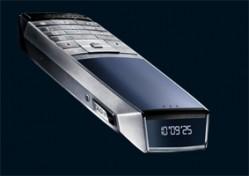 Handpolierte Tasten und Saphirglas: Mobiltelefon Meridiist (ab 3400 Euro)