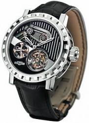 Kettenantrieb: Die DeWitt Academia Force Constante à Chaine bringt Uhrwerkteile auf die Zifferblattseite