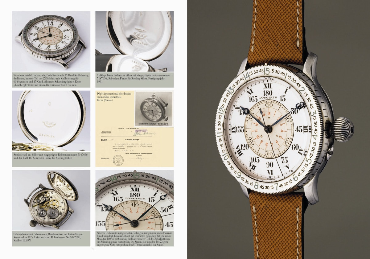 John Goldberger, Longines Watches, Seiten 74-75
