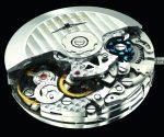 Der Chronograph verfügt neben Uhrzeit und Datum über einen 30-Minuten und einen Zwölf-Stunden-Zähler