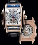 Komplikationen genug für mehrere Uhren: die Chapter One vereint Tourbillon, Monopussoir, GMT, Datum, Wochentag und Mondphase