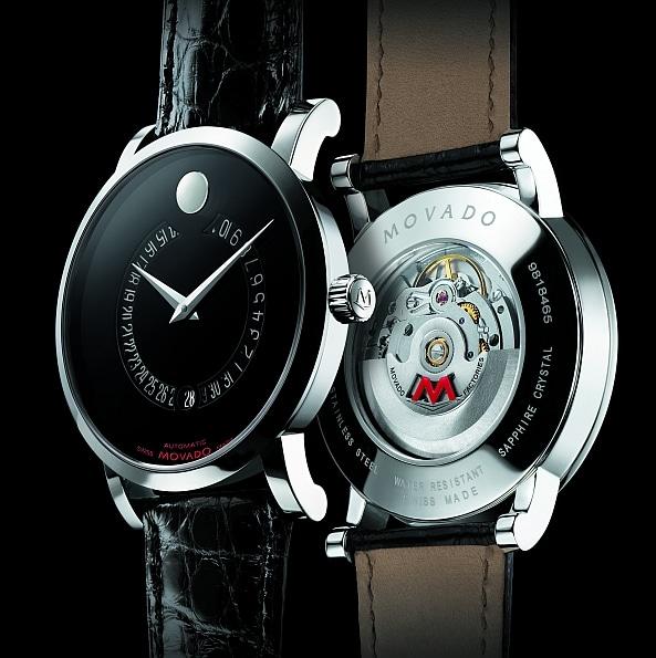 In seiner Red-Label-Kollektion präsentiert Movado immer wieder besondere Uhreneditionen