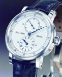 Das charakteristische Sattler-Gesicht ist auch als Armbanduhr schön anzusehen