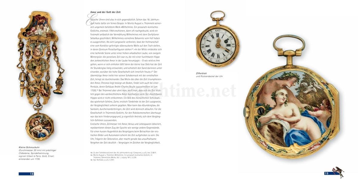 Christoph Prignitz, Erotische Uhren, Seiten 18-19