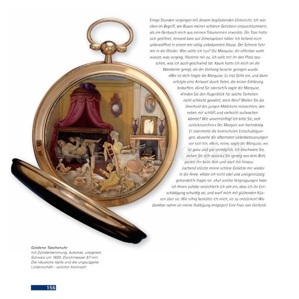 Christoph Prignitz, Erotische Uhren, Seite 156
