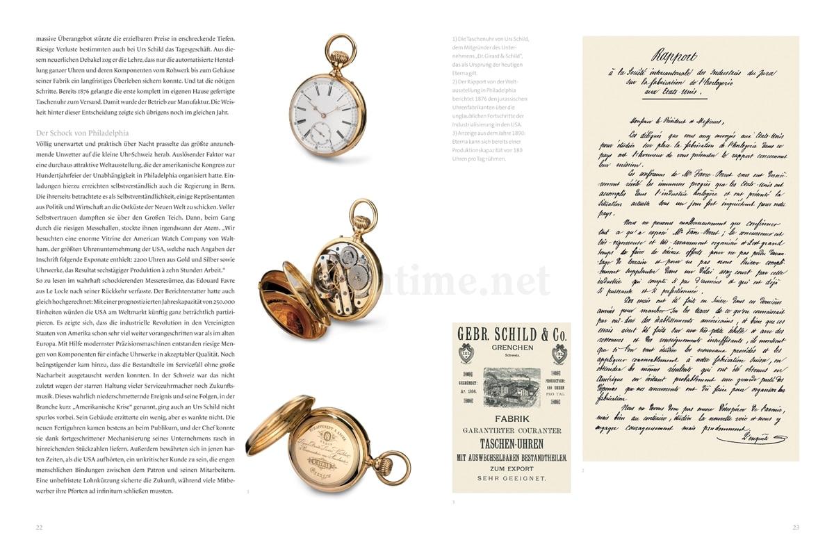 Brunner/Pfeiffer-Belli, Eterna – Pioniere der Uhrmacherkunst, Seiten 22-23