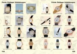 Wolfgang Salm, Preisführer Rolex & Patek Philippe, Seiten 154-155