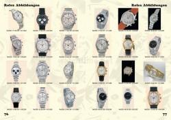 Wolfgang Salm, Preisführer Rolex & Patek Philippe, Seiten 76-77