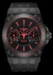 In vielen Details nehmen die Uhren von Maranello V8 Elemente des Motorsports auf