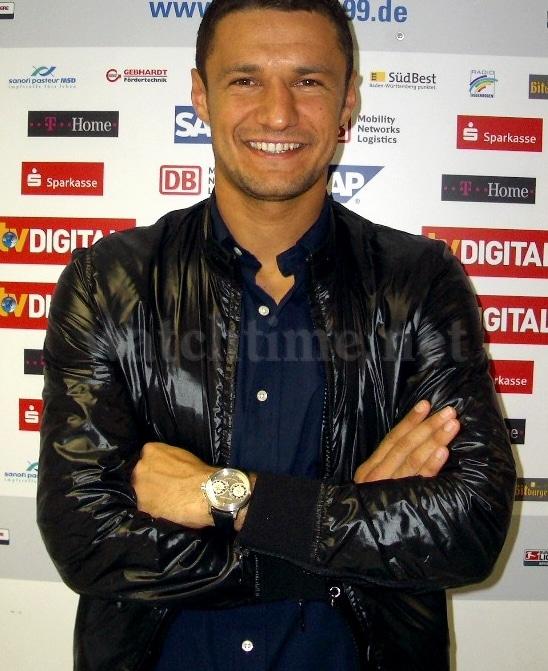Freut sich über sein neues Uhren-Engagement: Sejad Salihovic