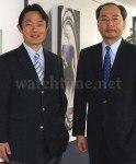 Neu Spitze von Casio Europe: Kazuyuki Yamashita und Yoshiyuki Kuroda