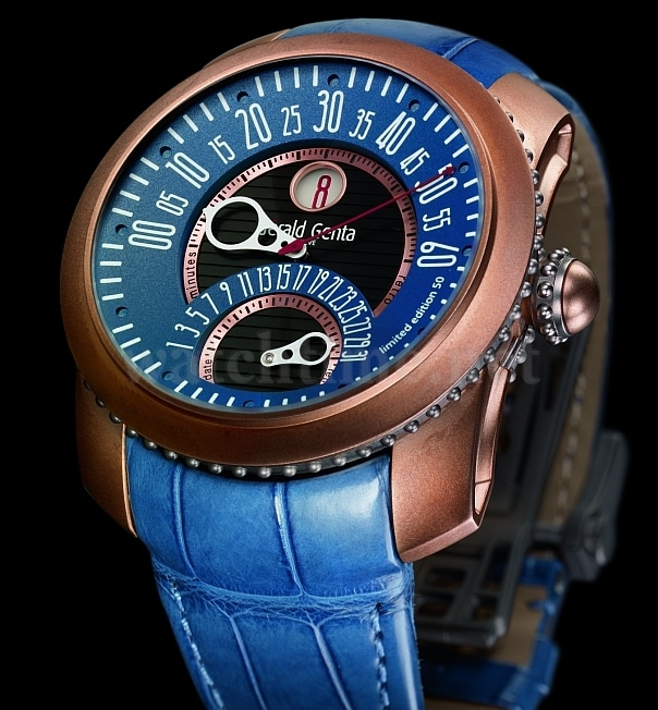 Die mitlebende Uhr: Im Laufe der der Jahre erhält das Bronzegehäuse eine Patina