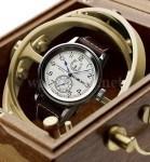Maritimes Ambiente: die kardanisch aufgehängte Armbanduhr von D. Dornblüth & Sohn