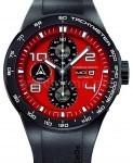 Uhr und Auto aus einem Stall: Porsche Design Flat Six P'6340 Automatic Chronograph
