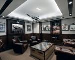 Aviator's Lounge in der IWC Flagship Boutique in Hongkong