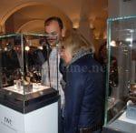 Entspannte Atmosphäre: Private Besucher sind ebenso eingeladen wie Uhrenexperten