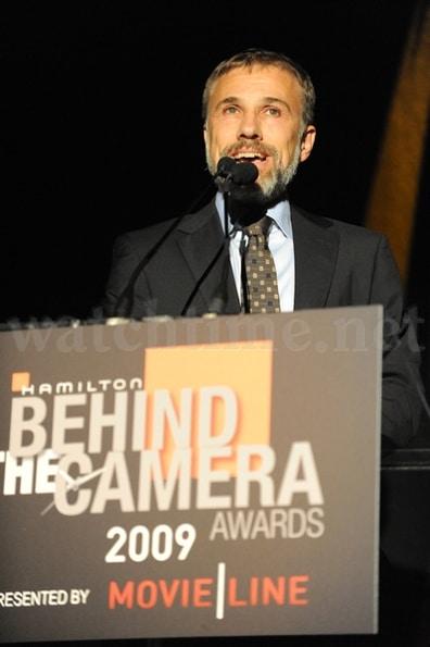 Christoph Waltz präsentierte den Lifetime Achievement Award