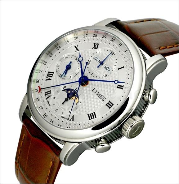 Funktionsreichste Limes-Uhr: Pharo Vollkalender Chronograph