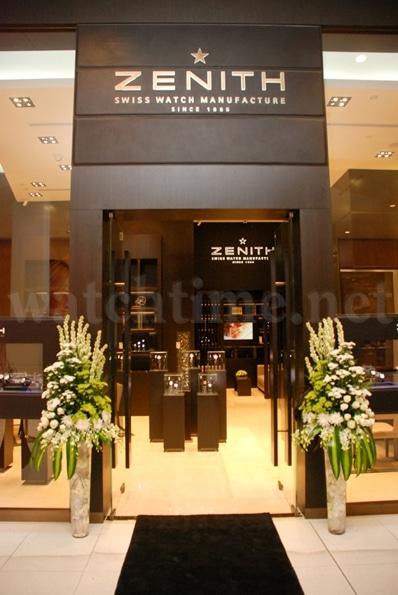 Zenith Boutique in der Dubai Mall