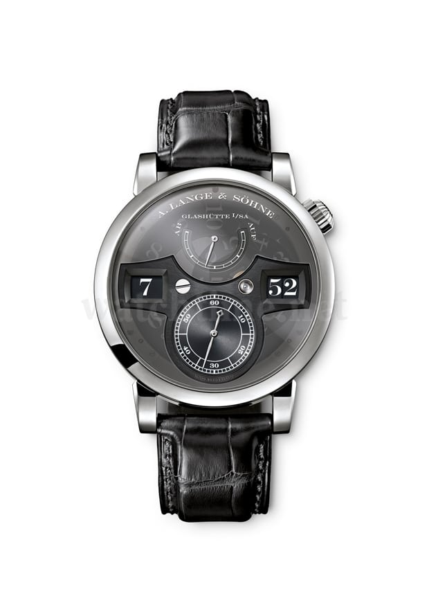 Phantom-Uhr aus Glashütte: die Lange Zeitwerk Luminous