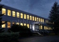 Das Firmengebäude von H. Moser & Cie.