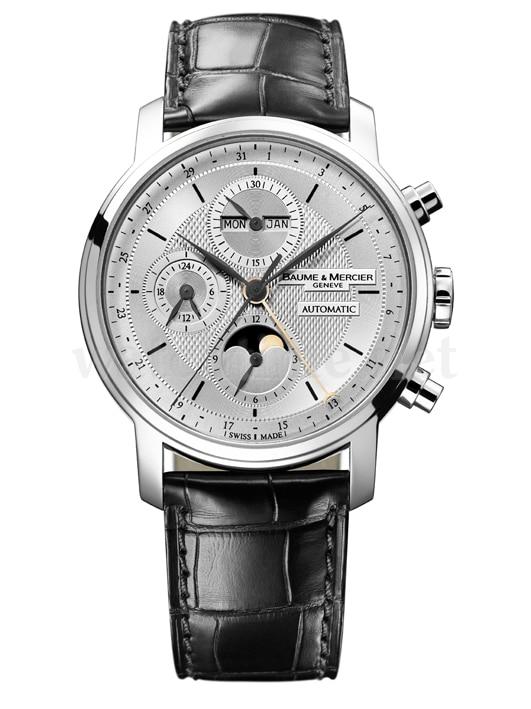 Mit 24-Stunden-Anzeige: der Kalenderchronograph aus der Serie Classima Executives