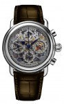 Jubiläumsuhr zum 100. Firmengeburtstag von Aerowatch: der Skelett Jubiläums Chronograph 1910-2010