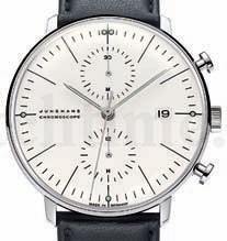 3. Platz: Max Bill by Junghans Max Bill Chronoscope