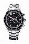 Aus der aktuellen Olympic Timeless Collection: der Speedmaster 5-Counters Chronograph