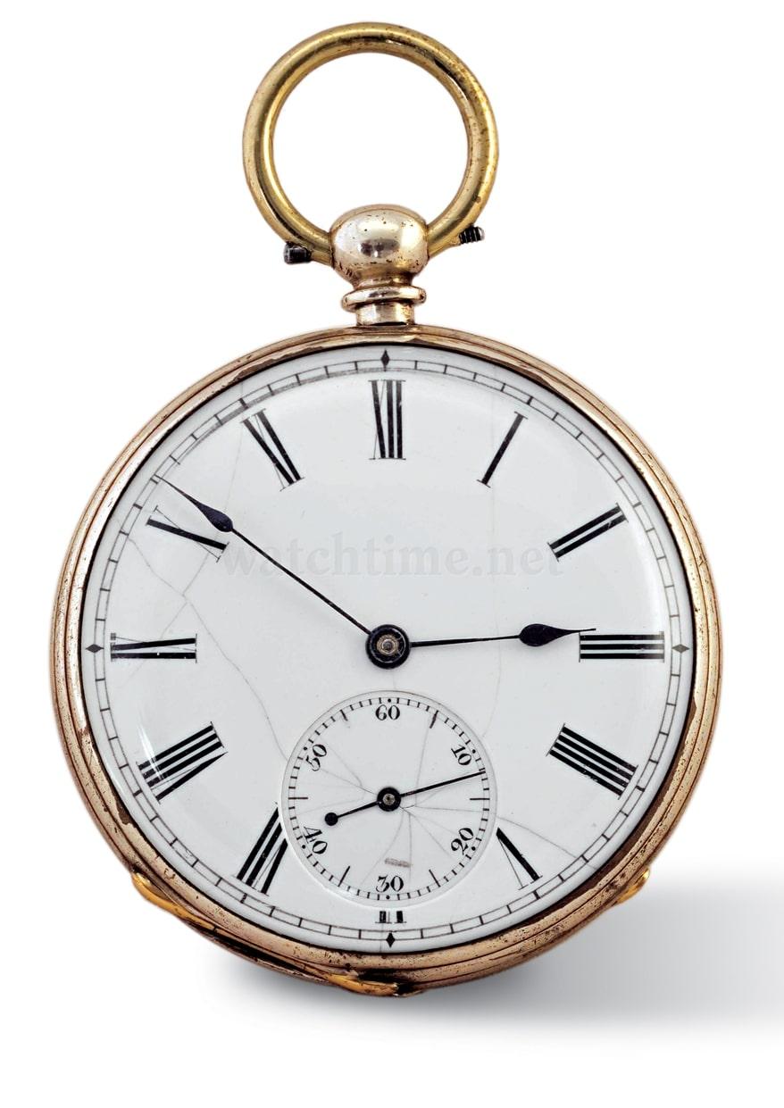 Eine Gutkaes & Lange-Taschenuhr von 1867 aus der Sammlung des Mathematisch-Physikalischen Salons