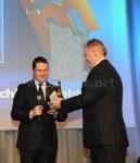 Axel Felmy, Geschäftsführer der Audemars Piguet Deutschland GmbH, nahm die Auszeichnung entgegen