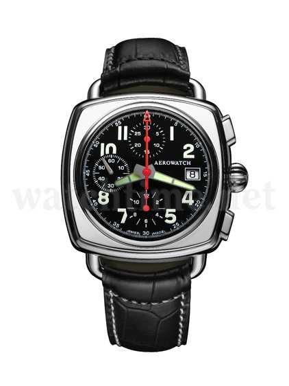 Aerowatch Chronograph Coussin Sport, Automatik im Wert von 1.550 Euro
