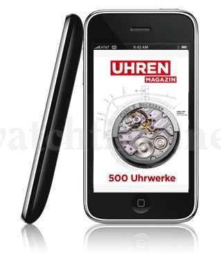 iPhone App Uhrwerke