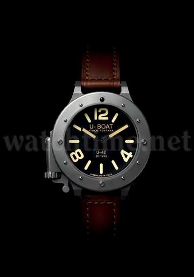 Enorme Ausmaße: das Uhrenmodell U-42 von U-Boat