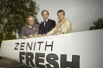 Christian Favre, Ingenieur-Designer; Jean-Frédéric Dufour, CEO Zenith und Jean-Philippe Bucher,