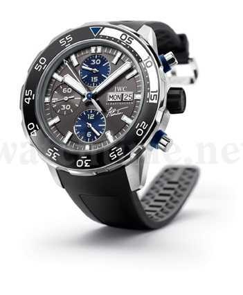 Sonder-Uhrenmodell von IWC: der Aquatimer Chronograph Edition Jacques-Yves Cousteau