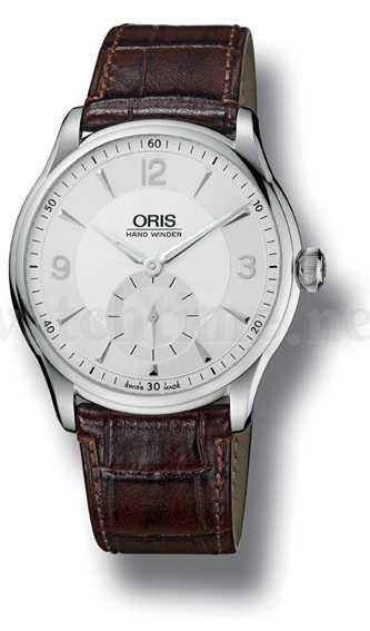 Extrem flache Uhr: die Atelier Hand Winding von Oris