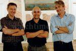 Grieb & Benzinger: Hermann Grieb, Georg Bartkowiak und Jochen Benzinger (von links).