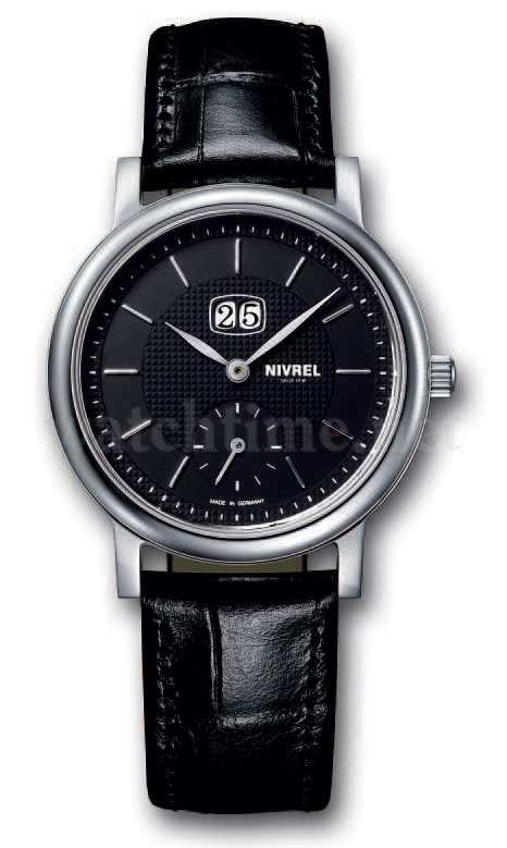 Mit klassischem Uhrengesicht: die Héritage Bijoux La Grande Date von Nivrel