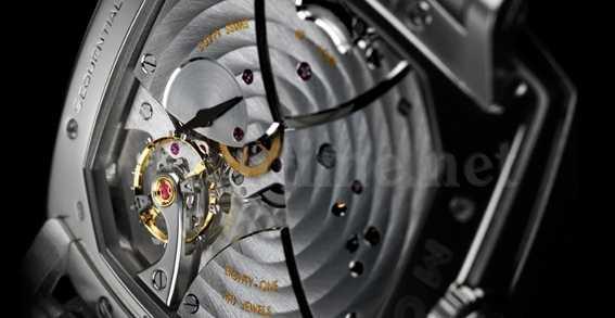 Uhrwerk der Sequential One besteht aus 471 Einzelteilen
