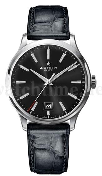 Klassische Dreizeiger-Uhr: die Elite Captain Central Second von Zenith