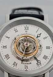 Haldimanns erste Armbanduhr: die H1 mit Zentraltourbillon