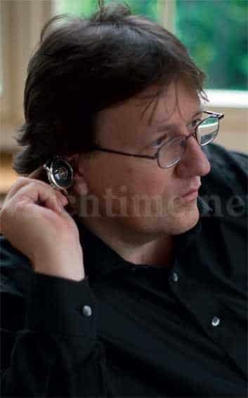 Uhrmacher Beat Haldimann