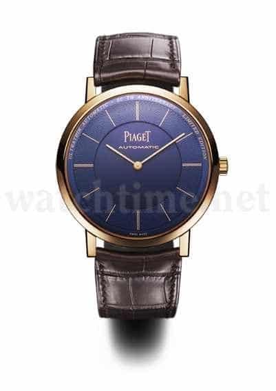 Ein Hingucker: das Uhrenmodell Altiplano Anniversary Edition von Piaget