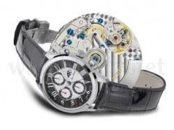 Uhr mit Mondphasenanzeige aus der Semper-Kollektion, Ref. 160.233.45