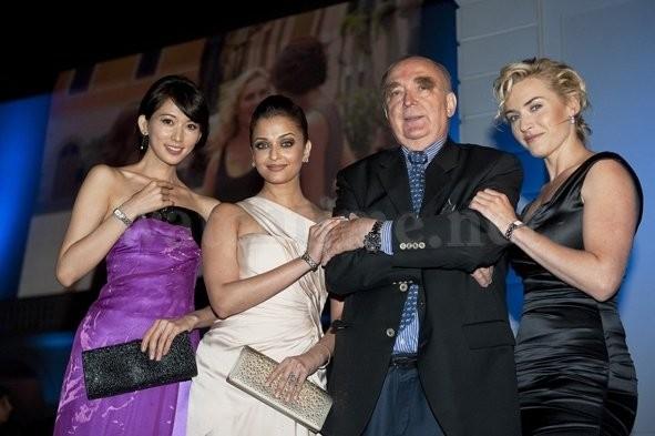 Chi Ling Lin, Aishwarya Rai Bachchan, Walter von Känel, Präsident von Longines and Kate Winslet