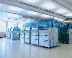 Hochmodern: Die Werkteile entstehen in eigenen Fertigungszentren