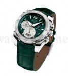 Auffallend: der Pershing Chronograph British Racing Green von Parmigiani
