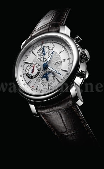Der Chronograph Renaissance von Aerowatch ist auf 499 Exemplare limitiert.