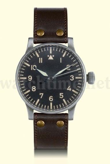 Alte Fliegeruhr: Historische Beobachtungsuhr, genannt B-Uhr (Thommen Kaliber 31)